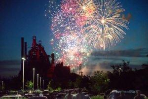 Fireworks In Bethlehem PA